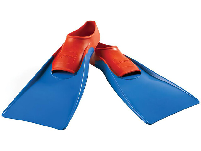 FINIS Long Floating Fins red/blue